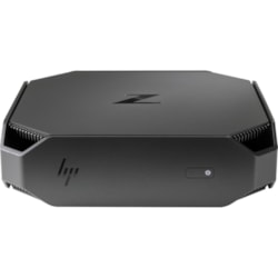 HP Z2 Mini G4 Workstation - 1 x Core i7 i7-8700 - 8 GB RAM - 1 TB HDD - Mini PC - Space Gray, Black Chrome Accent