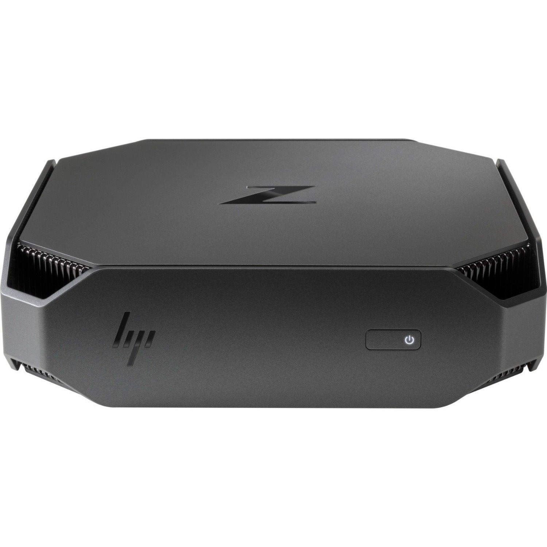HP Z2 Mini G4 Workstation - 1 x Core i7 i7-8700 - 8 GB RAM - 1 TB HDD - Mini PC - Space Gray, Black Chrome Accent