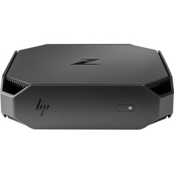 HP Z2 Mini G4 Workstation - 1 x Intel Xeon E-2124G Quad-core (4 Core) 3.40 GHz - 8 GB DDR4 SDRAM - 256 GB SSD - NVIDIA Quadro P600 4 GB Graphics - Mini PC - Space Gray, Black Chrome Accent