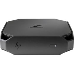 HP Z2 Mini G4 Workstation - 1 x Xeon E-2124G - 8 GB RAM - 256 GB SSD - Mini PC - Space Gray, Black Chrome Accent