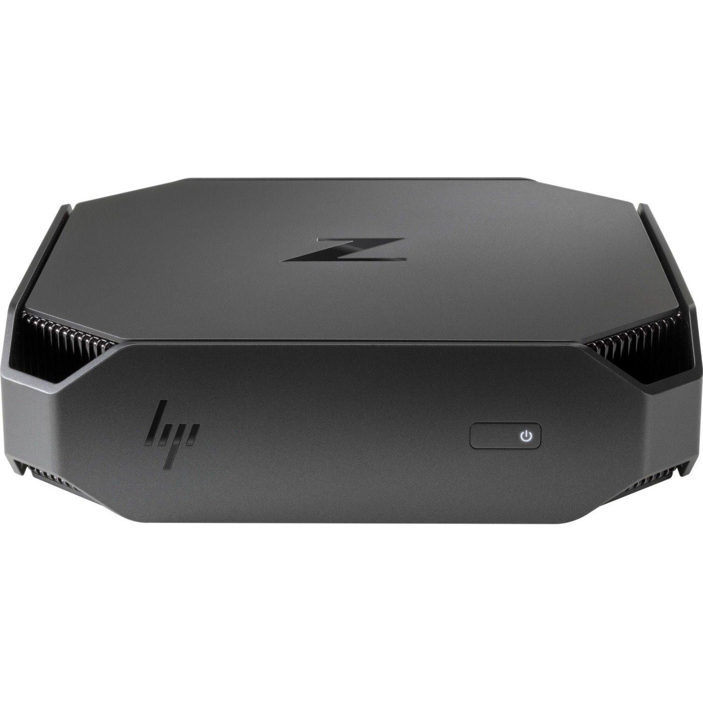 HP Z2 Mini G4 Workstation - 1 x Xeon E-2176G - 32 GB RAM - 2 TB HDD - 512 GB SSD - Mini PC - Space Gray, Black Chrome Accent
