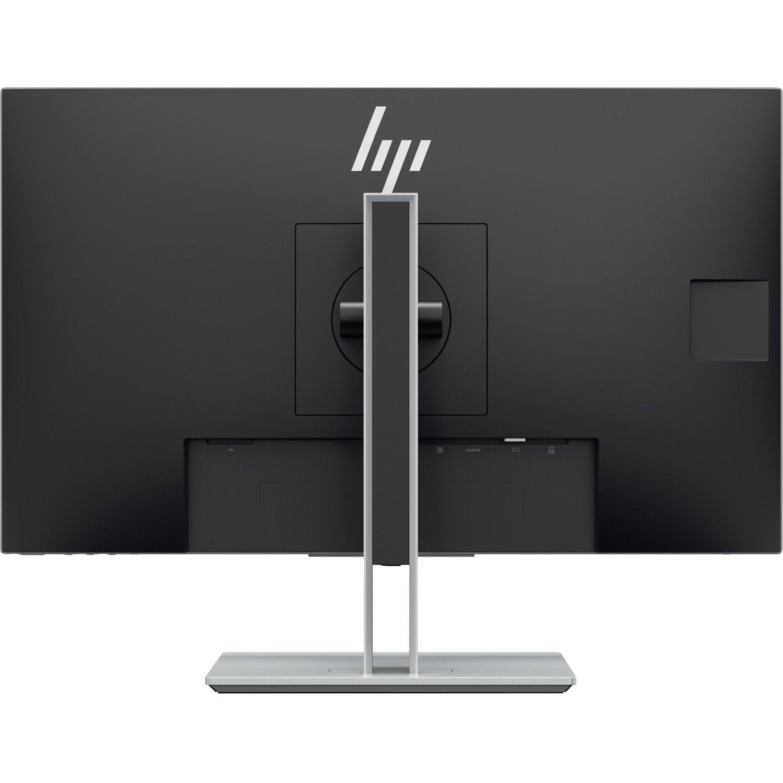 """HP Elite E243p 60.5 cm (23.8"""") Full HD LED LCD Monitor - 16:9 - Black, Silver"""