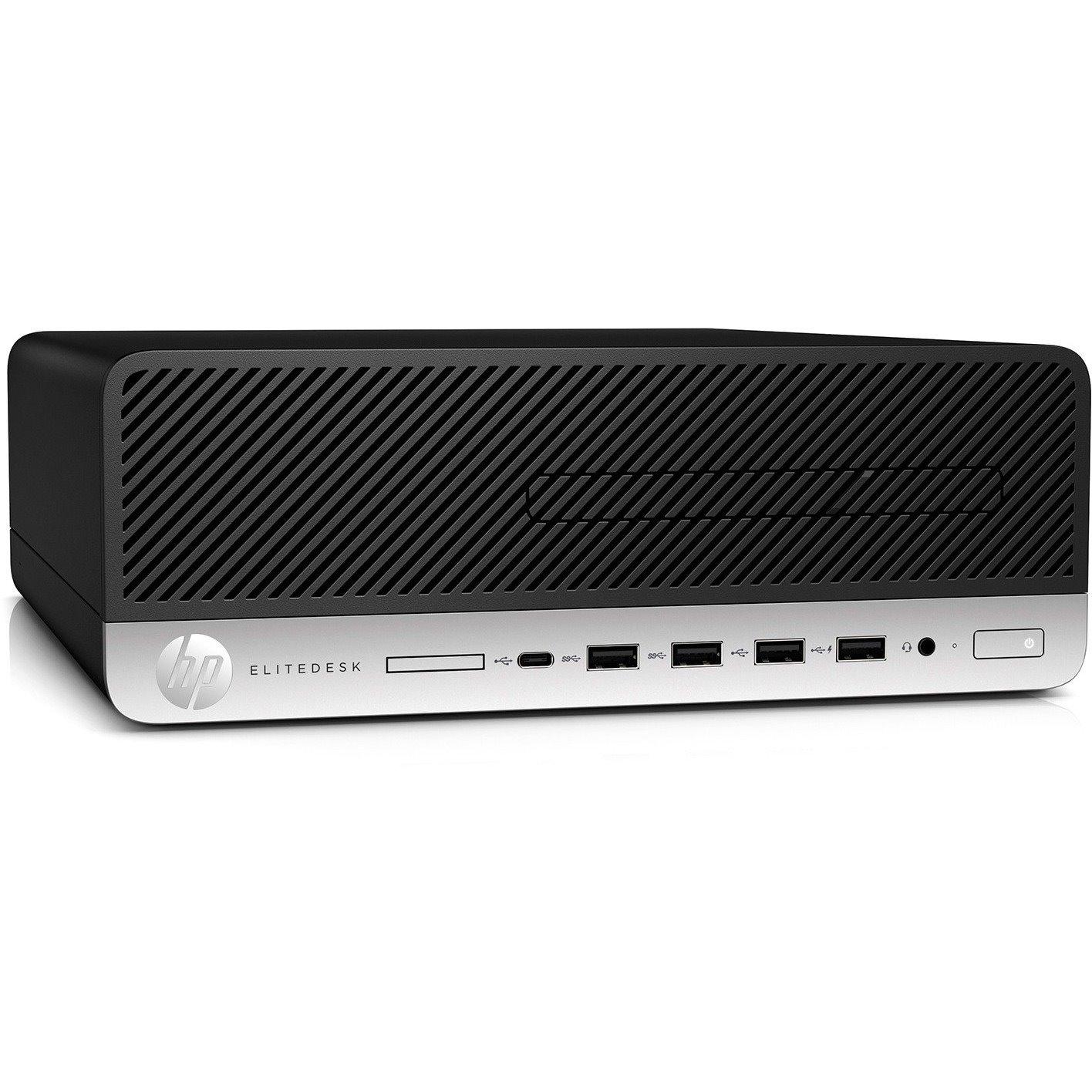 HP EliteDesk 705 G4 Desktop Computer - Ryzen 7 PRO 2700 - 8 GB RAM - 256 GB SSD - Small Form Factor