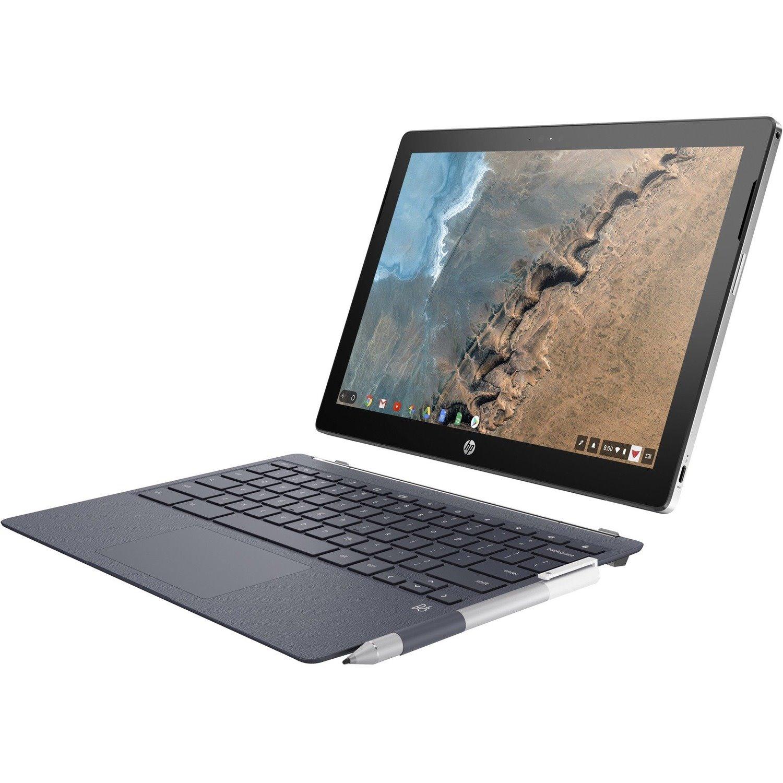 "HP Chromebook x2 12-f000 12-f003tu 31.2 cm (12.3"") Touchscreen 2 in 1 Chromebook - 2400 x 1600 - Core i5 i5-7Y54 - 8 GB RAM - 64 GB Flash Memory"