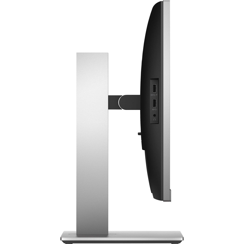 "HP E273d 68.6 cm (27"") Full HD WLED LCD Monitor - 16:9 - Black, Silver"