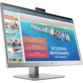 "HP E243d 60.5 cm (23.8"") Full HD LED LCD Monitor - 16:9 - Asteroid, Jack Black"