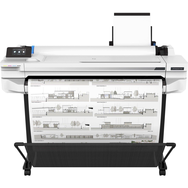 "HP Designjet T500 T530 Inkjet Large Format Printer - 914.40 mm (36"") Print Width - Colour"