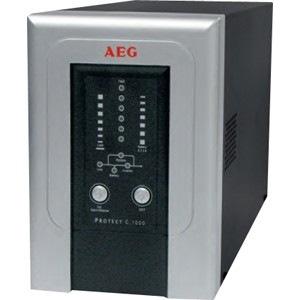 AEG Protect C. C. 10000 Dual Conversion Online UPS - 10 kVA/7 kW - Tower