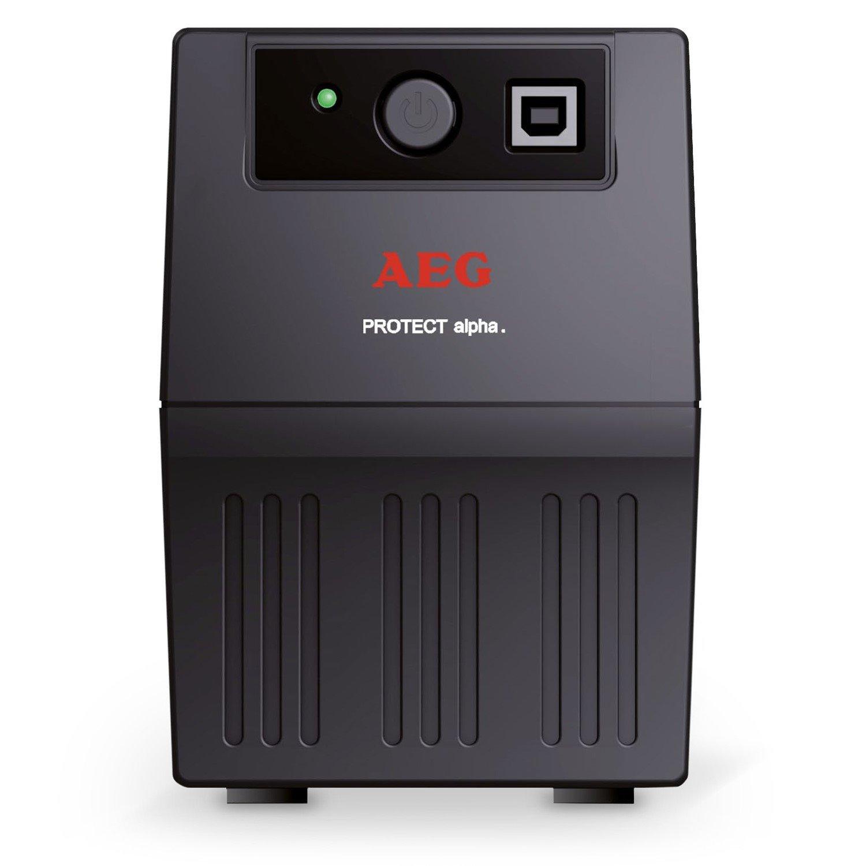 AEG Protect Alpha Line-interactive UPS - 600 VA/360 WTower