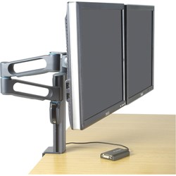 Kensington SmartFit 60900 Mounting Arm for Flat Panel Display, Notebook