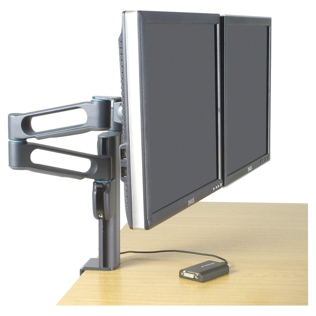 Kensington SmartFit 60900 Mounting Arm for Flat Panel Display, Notebook