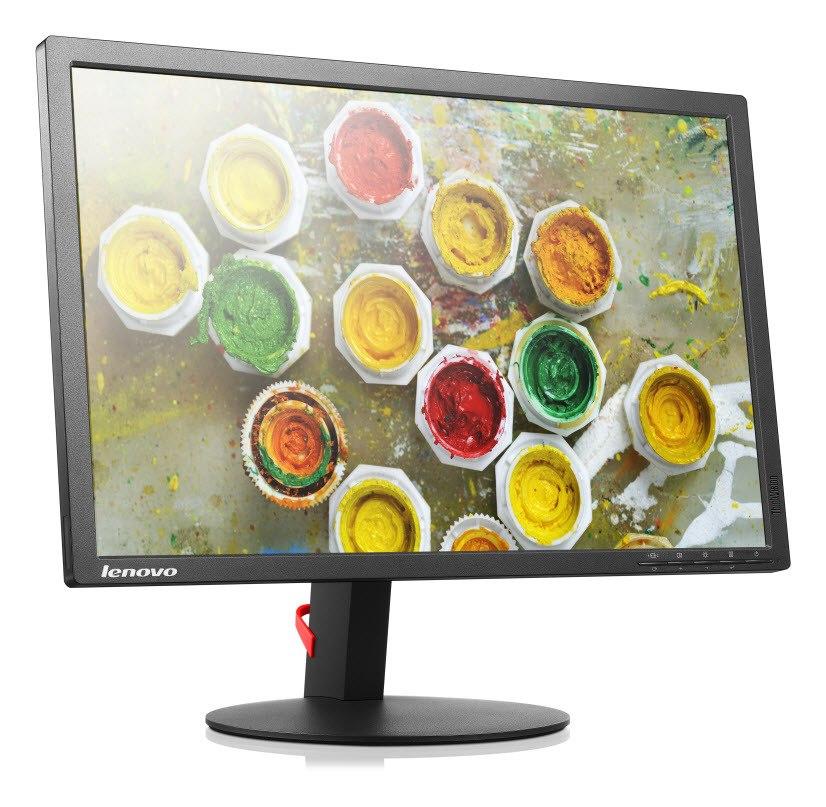"""Lenovo ThinkVision T2254p 55.9 cm (22"""") WSXGA+ LED LCD Monitor - 16:10 - Raven Black"""
