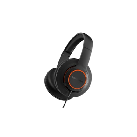 SteelSeries Siberia 100 Wired Over-the-head Stereo Headset - Black