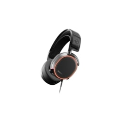 SteelSeries Arctis Pro Wired 40 mm Stereo Headset - Over-the-head - Circumaural - Black, White