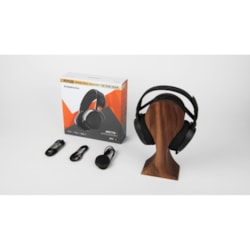 SteelSeries Arctis Wired/Wireless RF 40 mm Stereo Headset - Over-the-head - Circumaural - Black