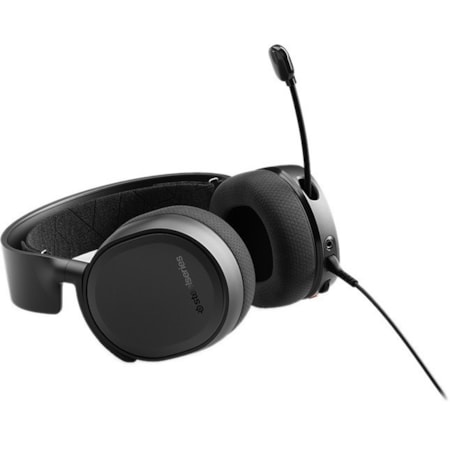 SteelSeries Arctis Wired Over-the-head Stereo Headset - Black