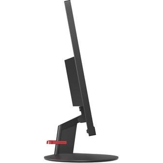 """Lenovo ThinkVision S24E-10 60.5 cm (23.8"""") Full HD WLED LCD Monitor - 16:9 - Raven Black"""