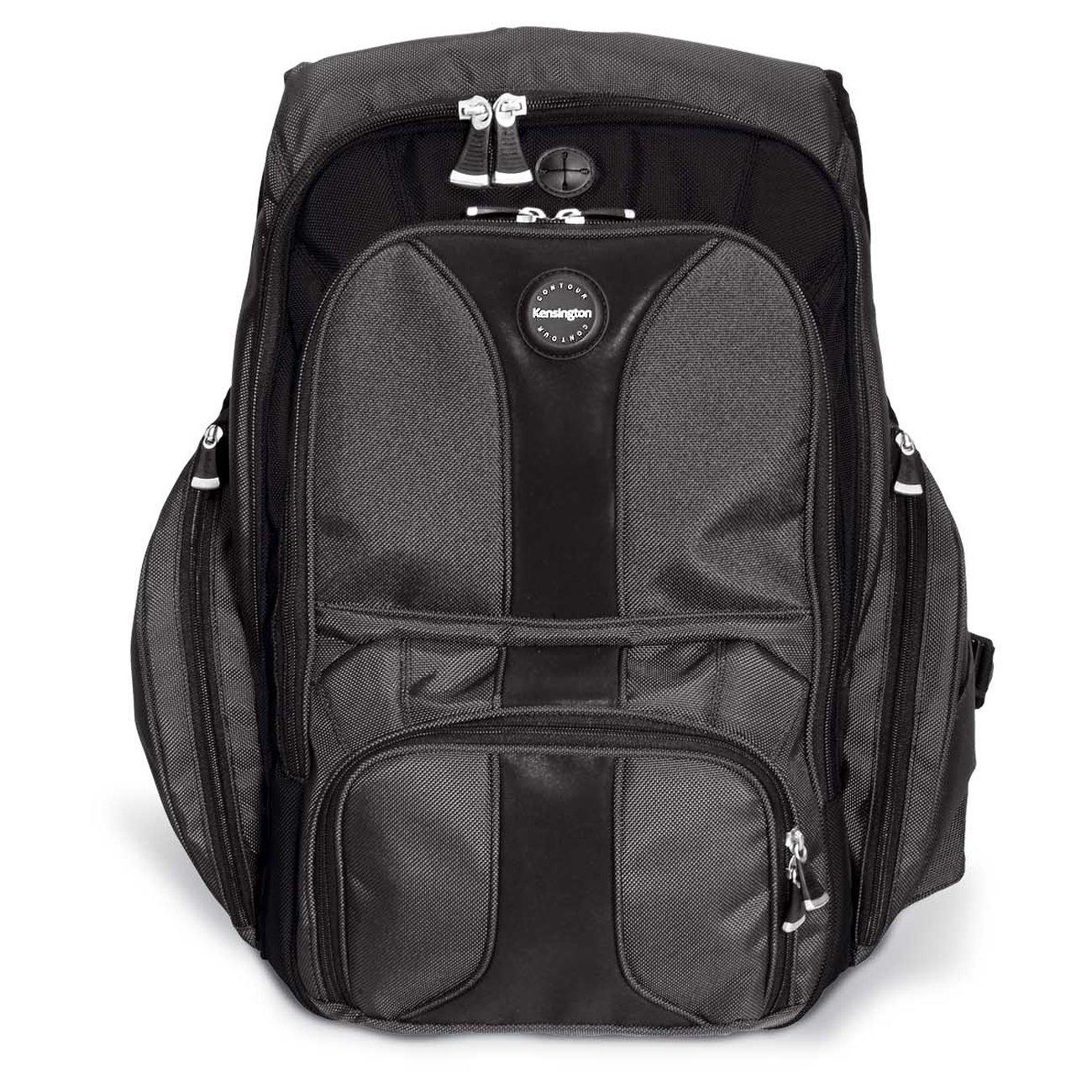 "Kensington Contour Carrying Case (Backpack) for 40.6 cm (16"") Notebook - Black"