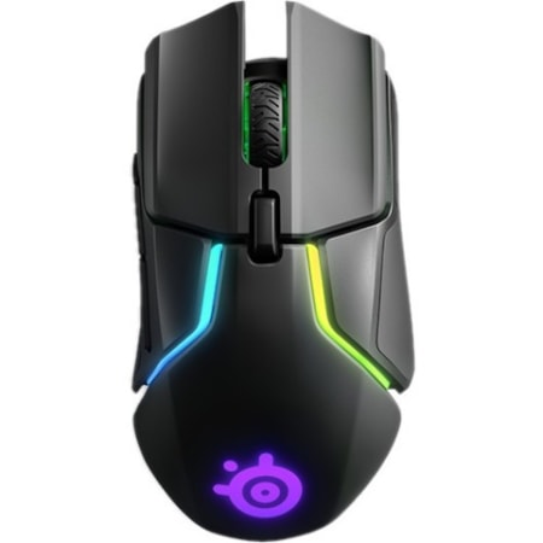 SteelSeries Rival 650 Mouse - TrueMove3+ - Wireless - 7 Button(s) - Black