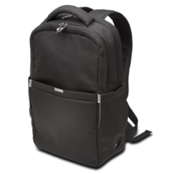 "Kensington 62617 Carrying Case (Backpack) for 25.4 cm (10"") to 39.6 cm (15.6"") Notebook - Black"