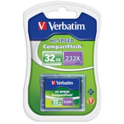 Verbatim 62865 32 GB CompactFlash