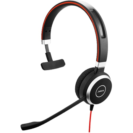 Jabra EVOLVE 40 MS Wired Over-the-head Mono Headset