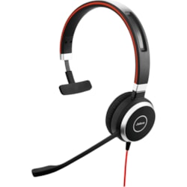 Jabra EVOLVE 40 UC Wired Over-the-head Mono Headset