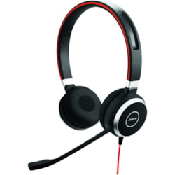 Jabra EVOLVE 40 MS Wired Over-the-head Stereo Headset