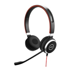 Jabra EVOLVE 40 MS Wired Stereo Headset - Over-the-head - Supra-aural