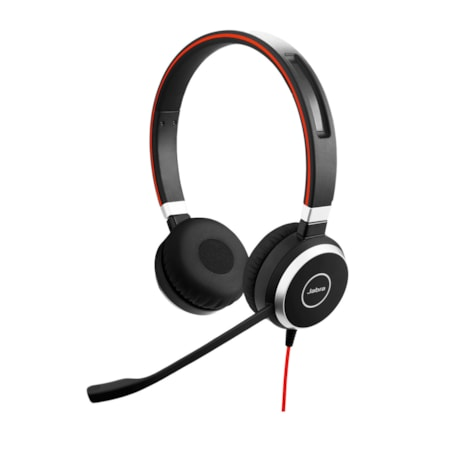 Jabra EVOLVE 40 UC Wired Stereo Headset - Over-the-head - Supra-aural