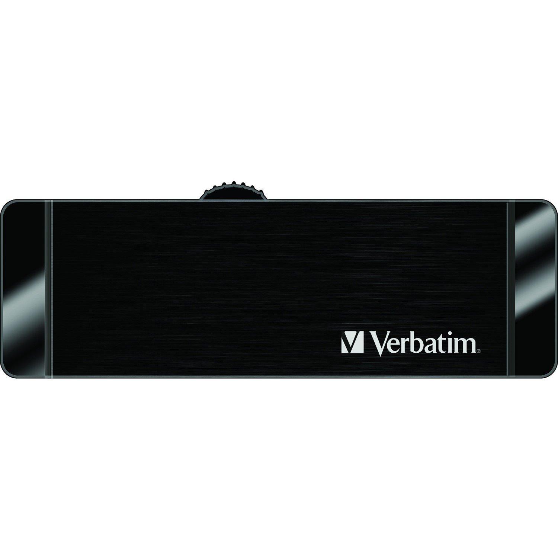 Verbatim Store 'n' Go OTG 32 GB USB 3.0, Micro USB Flash Drive - Black