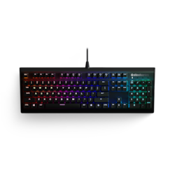 SteelSeries Apex M750 Mechanical Keyboard - Cable Connectivity - Matte Black