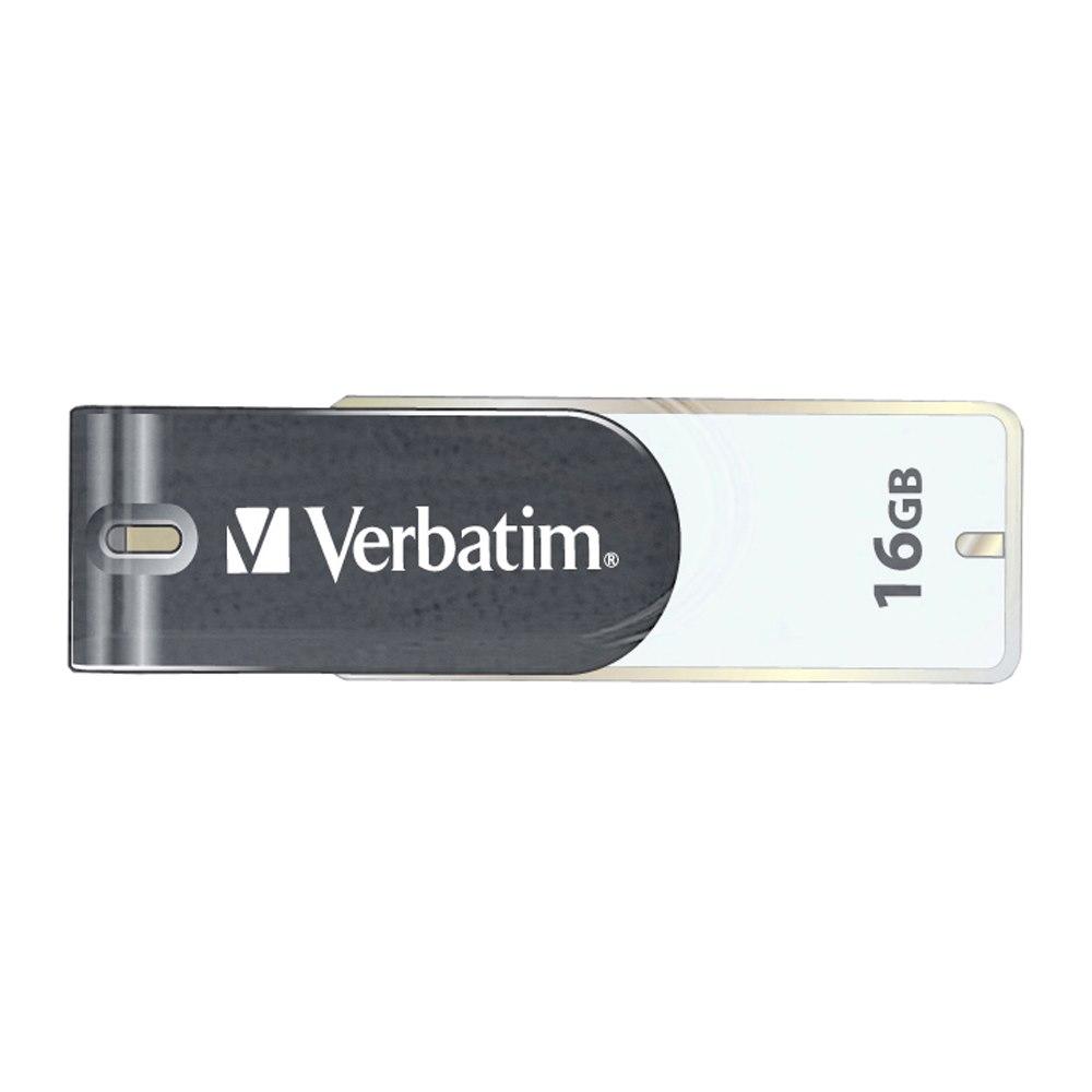 Verbatim Store 'n' Go 16 GB USB 2.0 Flash Drive - Grey