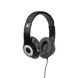 Verbatim Classic Wired 40 mm Stereo Headset - Over-the-head - Circumaural - Black