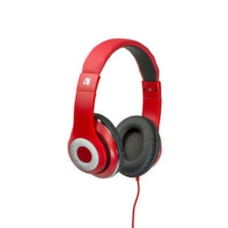 Verbatim Classic Wired Over-the-head Stereo Headset - Red