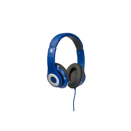 Verbatim Classic Wired Over-the-head Stereo Headset - Blue