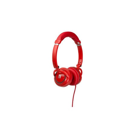 Verbatim Street Wired Over-the-head Stereo Headset - Red