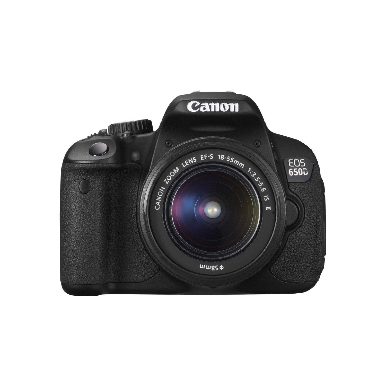 Canon EOS 650D 18 Megapixel Digital SLR Camera with Lens - 55 mm - 250 mm (Lens 1), 18 mm - 55 mm (Lens 2)
