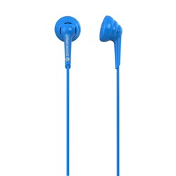 Verbatim Urban Sound Buddies Wired Stereo Earphone - Earbud - In-ear - Blue
