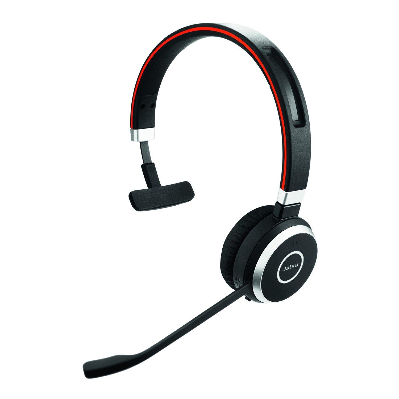 Jabra EVOLVE 65 Wireless Bluetooth Mono Headset - Over-the-head - Supra-aural