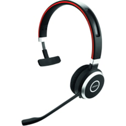 Jabra EVOLVE 65 UC Wireless Over-the-head Mono Headset INCLUDING CHARGE STAND