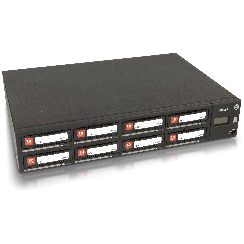 Imation A8 8 x Total Bays SAN Storage System - 2U - Desktop/Rack-mountable