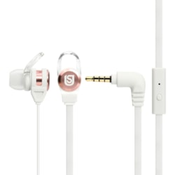 Verbatim Urban Sound Wired Earbud Stereo Earset - White, Rose Gold