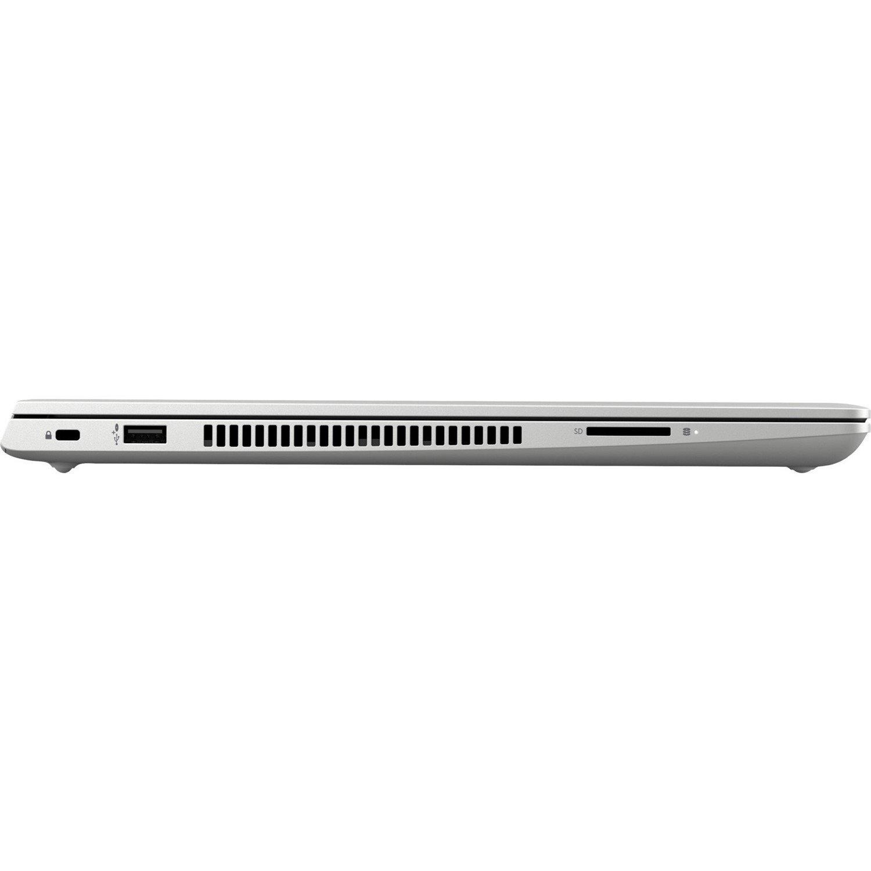 """HP ProBook 450 G6 39.6 cm (15.6"""") Notebook - 1366 x 768 - Core i5 i5-8265U - 8 GB RAM - 256 GB SSD - Natural Silver"""