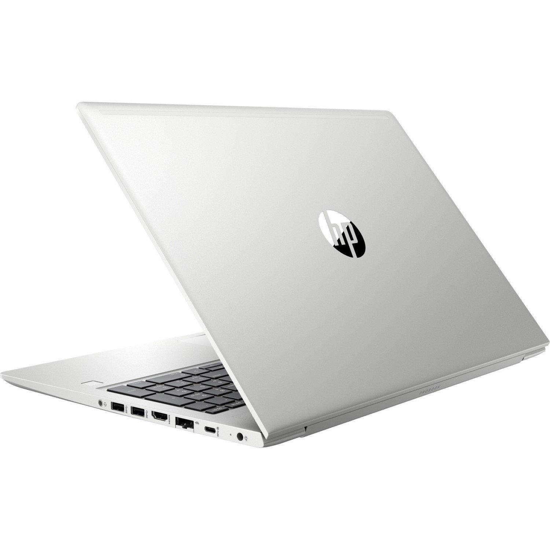 "HP ProBook 450 G6 39.6 cm (15.6"") LCD Notebook - Intel Core i7 (8th Gen) i7-8565U Quad-core (4 Core) 1.80 GHz - 8 GB DDR4 SDRAM - 256 GB SSD - Windows 10 Pro 64-bit - 1920 x 1080 - In-plane Switching (IPS) Technology - Natural Silver"