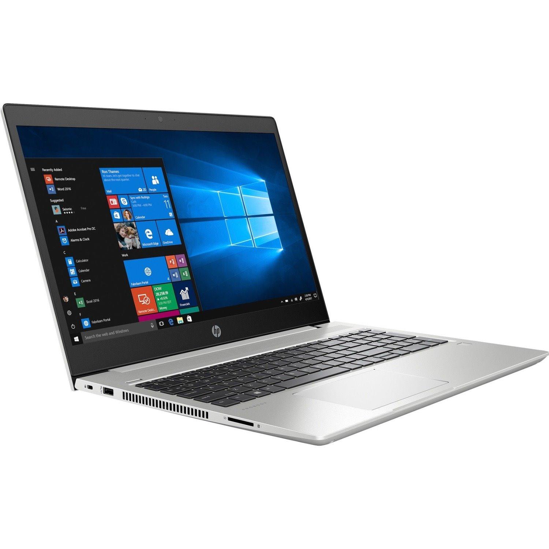 "HP ProBook 450 G6 39.6 cm (15.6"") LCD Notebook - Intel Core i3 (8th Gen) i3-8145U Dual-core (2 Core) 2.10 GHz - 8 GB DDR4 SDRAM - 128 GB SSD - Windows 10 Pro Education 64-bit - 1366 x 768 - Natural Silver"