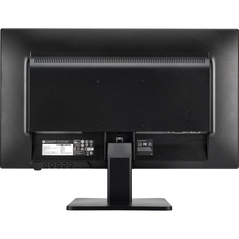 "HP P241v 60.5 cm (23.8"") Full HD LED LCD Monitor - 16:9 - Black"