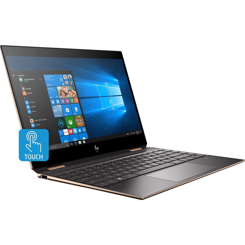 """HP Spectre x360 13-ap0000 13-ap0130tu 33.8 cm (13.3"""") Touchscreen 2 in 1 Notebook - 1920 x 1080 - Core i7 i7-8565U - 16 GB RAM - 256 GB SSD - Dark Ash Silver"""
