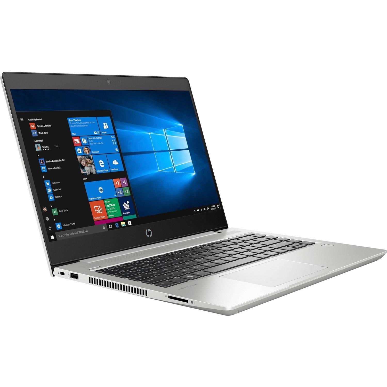 "HP ProBook 445 G6 35.6 cm (14"") Notebook - 1366 x 768 - Ryzen 5 2500U - 8 GB RAM - 256 GB SSD - Natural Silver"