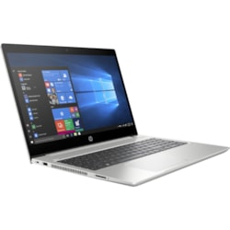"HP ProBook 455 G6 39.6 cm (15.6"") Notebook - 1366 x 768 - Ryzen 5 2500U - 8 GB RAM - 256 GB SSD - Natural Silver"